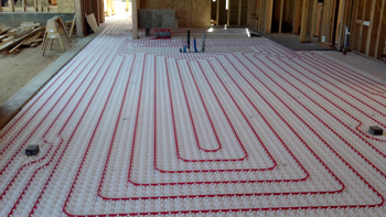 Radiant Floor Heating Installation Serving York Hanover Gettysburg - How to do radiant floor heating
