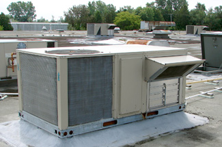 rooftop-heating-unit